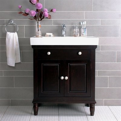 Lanza products wf6202 monte 30 inch vanity with top and for Bathroom 30 inch vanity