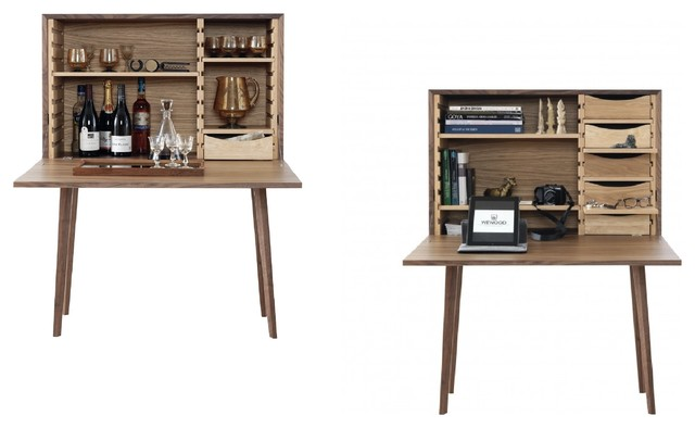 MISTER CLOSING DESK / CABINET / PERSONAL BAR - Modern - Wine And Bar Cabinets - london - by Lagoon