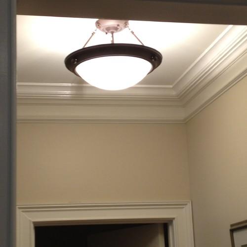 Foyer Ceiling Near Me : Show me your hall not foyer lighting