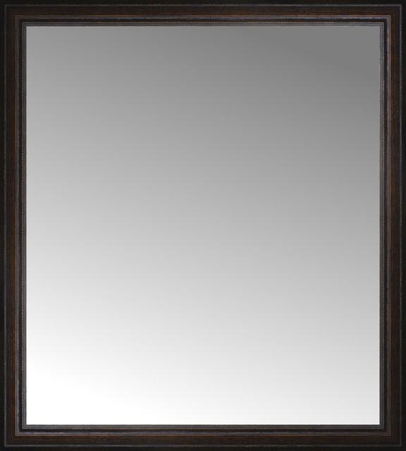 36 x 60 framed mirror