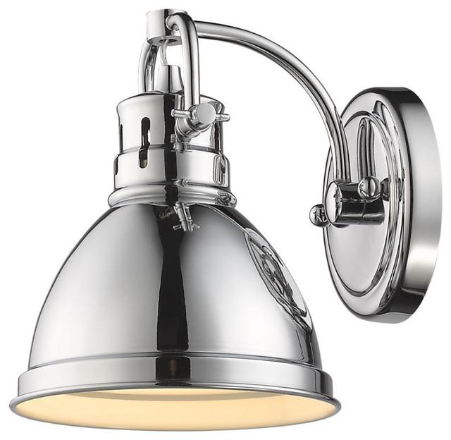 Houzz Bathroom Lighting Fixtures: Duncan 1-Light Vanity Fixture