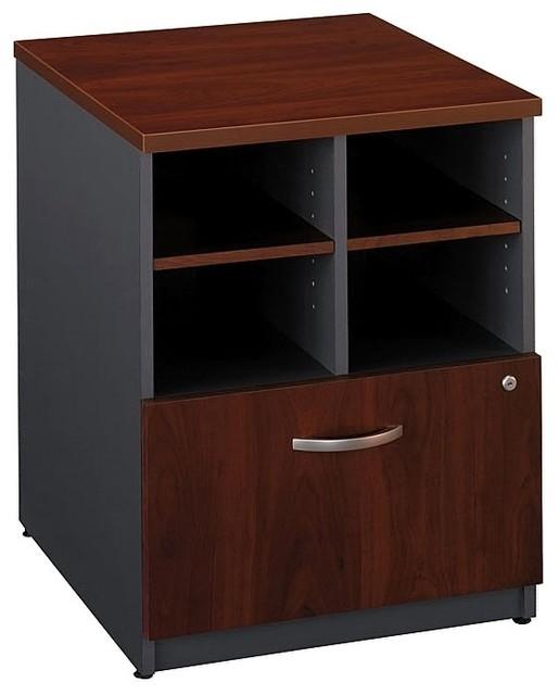 24 in. Storage Cabinet in Hansen Cherry finish (Auburn Maple) - Contemporary - Storage Cabinets ...
