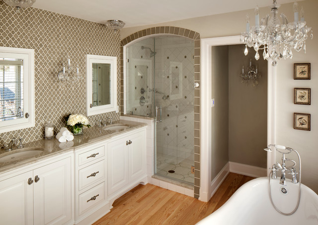 Classic Master Bathroom Milwaukee By Bartelt The Remodeling