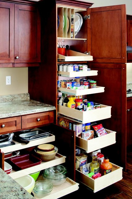 Pull Out Pantry Cabinets For Kitchen With Pull Out Kitchen And Pantry  Shelves New York By