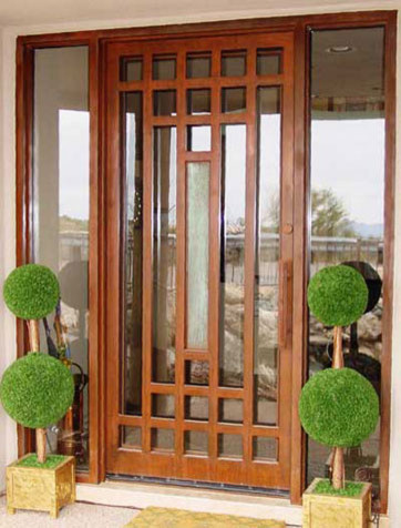 Is this beautiful door a custom made door?