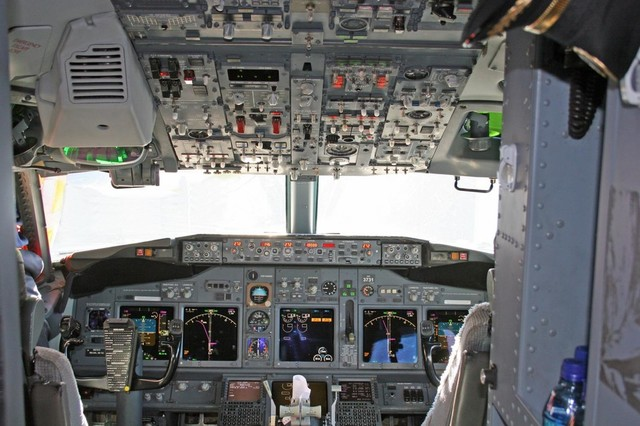 Cockpit 2 wall mural 24 inches w x 16 inches h for Cockpit wall mural