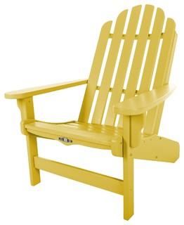 Pawleys Island Lifetime Essential Adirondack Chair Yellow