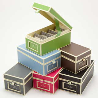 Semikolon Business Card Box - Contemporary - Desk Accessories - by See Jane Work