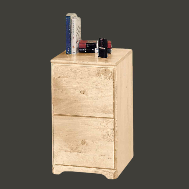 ... Pine 26 1/2'' H File Cabinet 2 drawer | 125613 traditional-filing