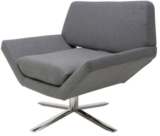 Sly Lounge Chair Wool Modern Armchairs And Accent
