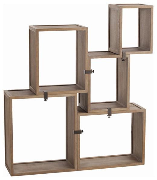 Arteriors Home Stockard Oak Modular Shelves 5353