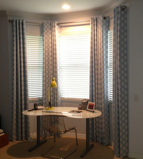 Drapery ideas contemporary curtains tampa by Contemporary drapes window treatments
