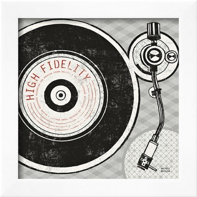 Vintage Analog Record Player by Michael Mullan - Eclectic - Fine Art ...