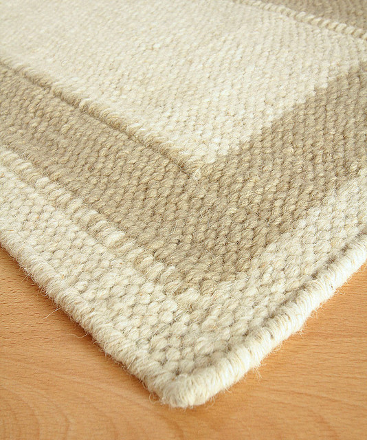 Border b wool berber rug 10 39 x 14 39 transitional rugs for Wool berber area rug
