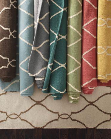 Bogart Flat Weave Wool Rug Contemporary Rugs .
