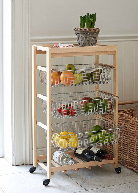 Kitchen trolley artu from the holding company modern for Designs of kitchen trolleys
