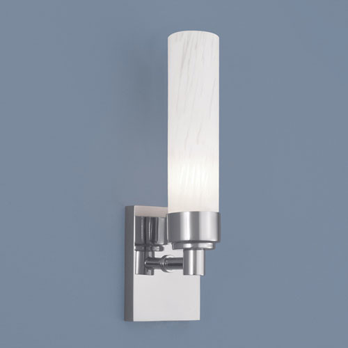 Alex Chrome Single Light Wall Sconce contemporary-wall-sconces