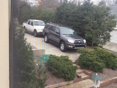Extending driveway retaining wall with steps