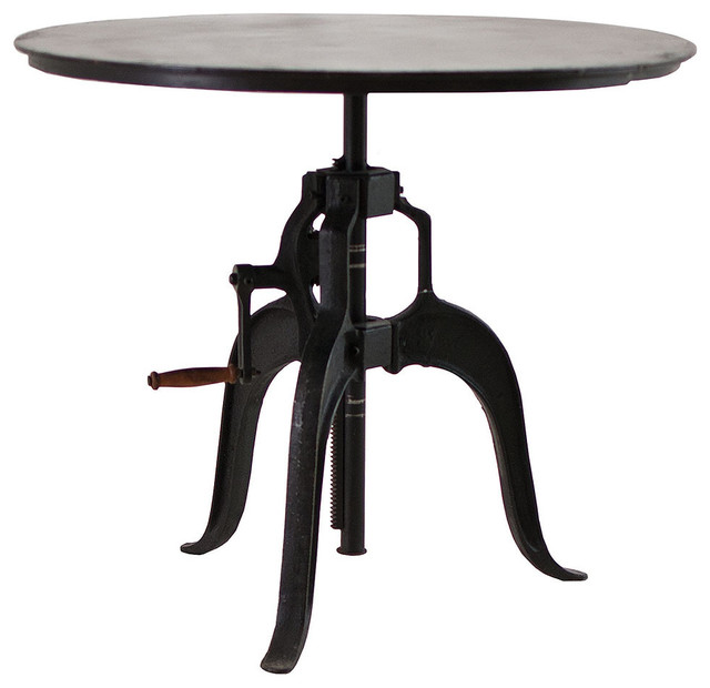 Adjustable Height Crank Dining Table 36quot Dining Tables  : dining tables from houzz.com size 640 x 620 jpeg 44kB