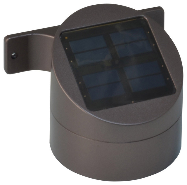Solar Led Deck Sconce Contemporary Deck Lighting By