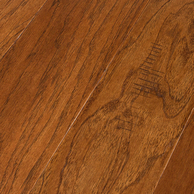 Bruce frontier golden brown engineered hardwood 3 8 x 5 for Bruce hardwood floors 3 8