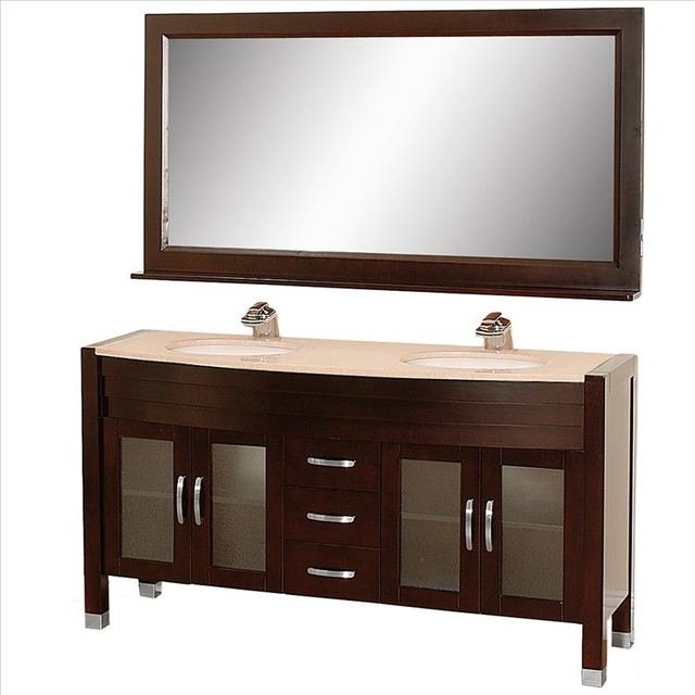 Wyndham Daytona Vanity With Undermount Sinks Traditional