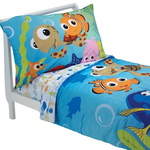 Nemo Bathroom Set: Finding Nemo Friends Toddler Bedding Set Comforter Sheets