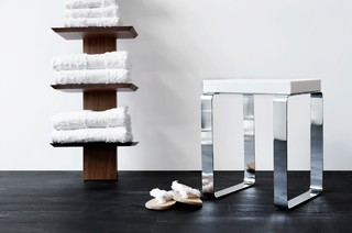 cube shower bench - modern - shower benches & seats
