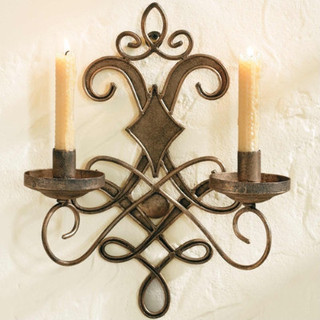 Wrought Iron Wall Sconce - Traditional - Wall Sconces - by Ballard Designs