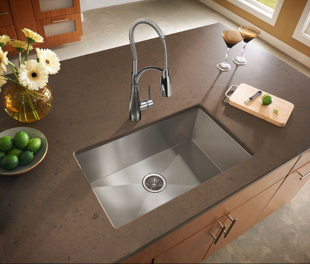 ... Stainless Steel Double Bowl Undermount Sink traditional-kitchen-sinks