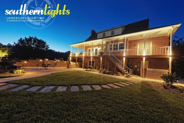 Landscape Lighting Raleigh : Landscape lighting photos by clarolux craftsman raleigh