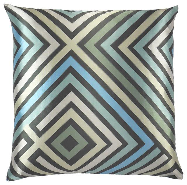 Modern Design Throw Pillows : Maze Zigzag Throw Pillow, 20