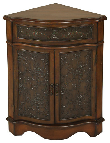 Walnut Corner Cabinet - Traditional - Side Tables And End Tables - by ...
