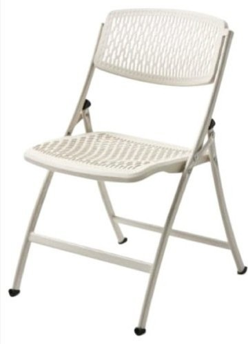 """Flex e Folding Chair White 4 pk"" Modern Living Room Chairs"