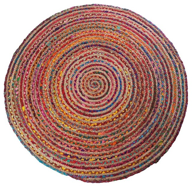tapis moderne rond 120cm multicolore lollies dimensions. Black Bedroom Furniture Sets. Home Design Ideas