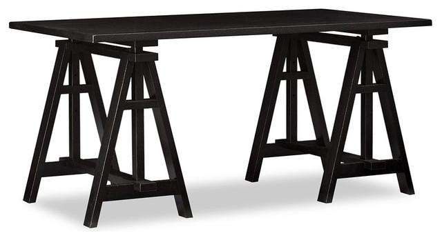 Printer 39 s project desk set traditional desks and for Pottery barn printer s desk reviews