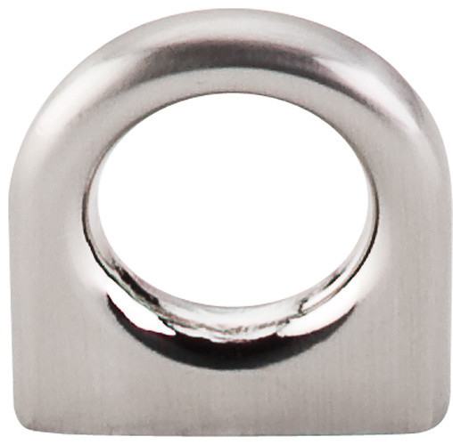 Ring Pull - Brushed Satin Nickel (TKM558) - Contemporary - Cabinet And Drawer Handle Pulls - by ...