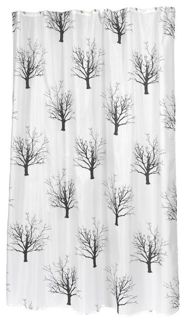 Extra Long Faith Fabric Shower Curtain
