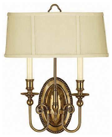 Hinkley Lighting 3610BB Cambridge Burnished Brass Wall Sconce - Traditional - Wall Sconces - by ...