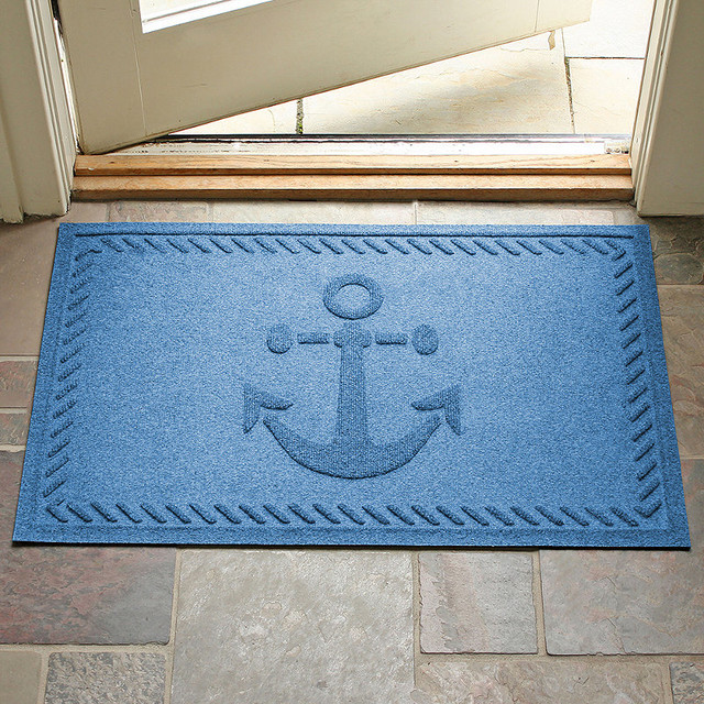 Anchor Water Amp Dirt Shield Mat Bluestone Contemporary