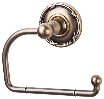Edwardian bath tissue hook german bronze ribbon for German made bathroom accessories