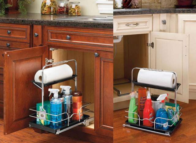 Under Sink Caddy - Pantry And Cabinet Organizers - Houston - by Cornerstone - A Division of ...