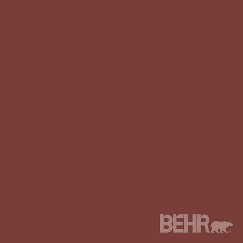 Roasted Red Pepper Paint Accent Wall: BEHR® Paint Color Red Pepper PPU2-2 Modern-paint
