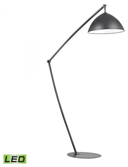 light matte black floor lamp modern floor lamps by lampuniverse. Black Bedroom Furniture Sets. Home Design Ideas