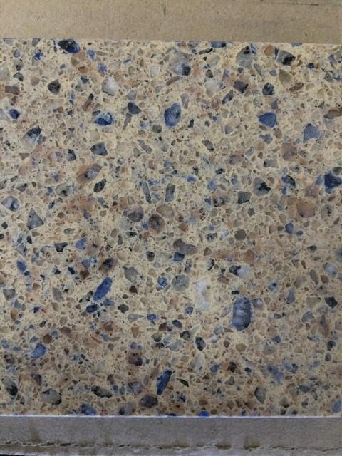 Blue Quartz Countertops : Hanstone caribbean blue quartz kitchen countertops new