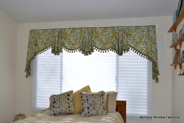 Bordeaux Valance By Mcfeely Window Fashions Baltimore