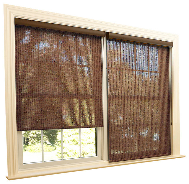 Samoa premium single roller window shade 24 to 36 wide for 12 inch wide window blinds