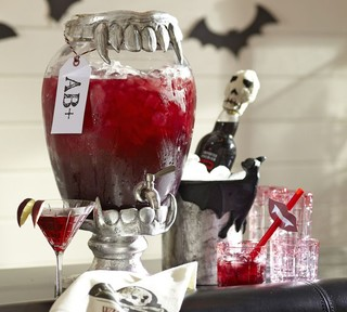 Vampire Teeth Drink Dispenser Stand Contemporary
