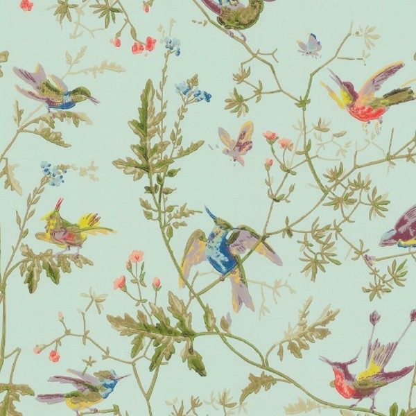 Papier peint humming birds cole and son - Produit decoller papier peint ...