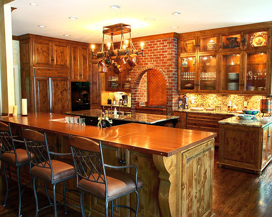 Oak Cabinet White Appliance Kitchen Design Ideas, Remodels & Photos ...